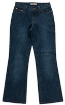 See by Chloe Mid Rise Wide Leg Jeans