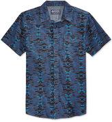 American Rag Men's Short-Sleeve Southwest-Print Shirt, Only at Macy's