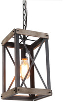 Lnc LNC 1-Light Foyer Rustic Chandelier Lighting Hanging Lantern Chandelie