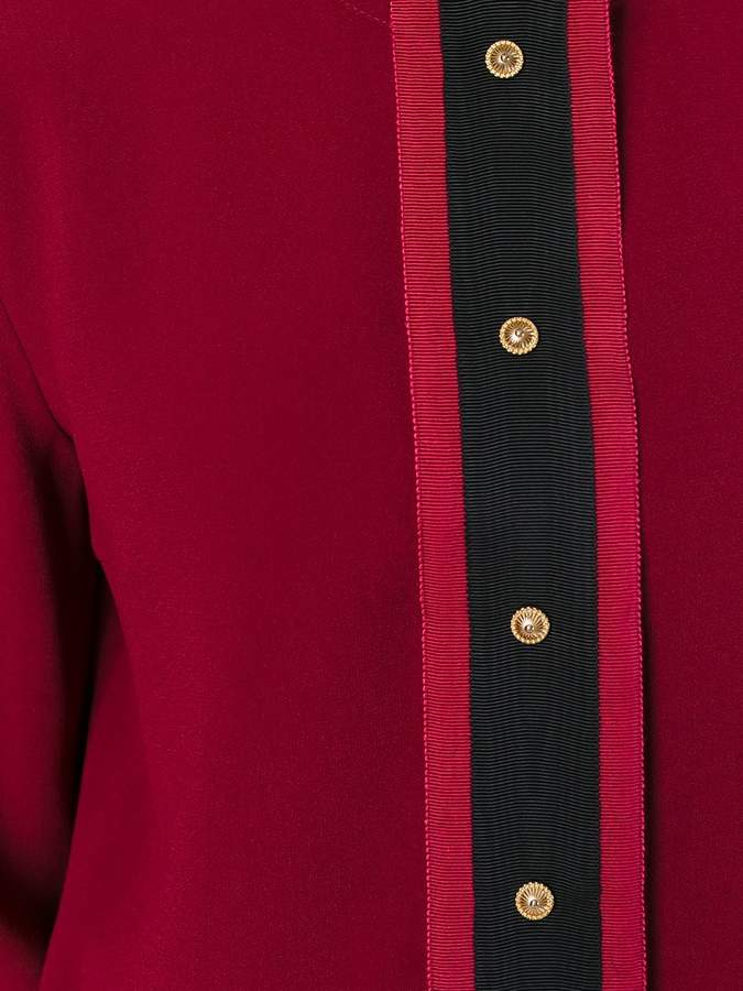 Fausto Puglisi collarless shirt