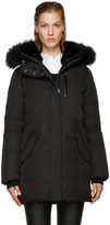 Mackage Ssense Exclusive Black Down Marla Coat