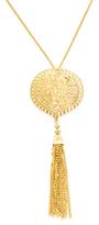 Kenneth Jay Lane Tassel Pendant Necklace