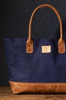 Will Leather Goods Utility Tote in Indigo