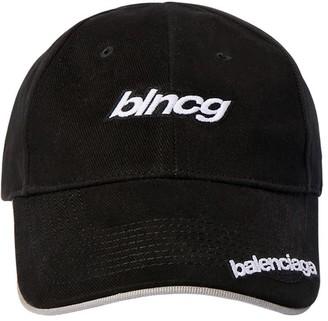 Balenciaga Speeed Logo Baseball Cap
