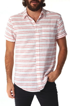 Px Woven Stripe Regular Fit Shirt