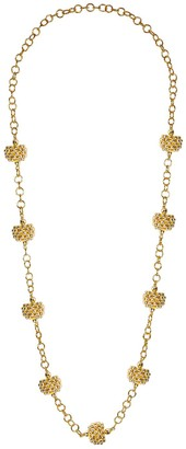 "Lisi Lerch 18"" Goldtone Kelly Necklace"