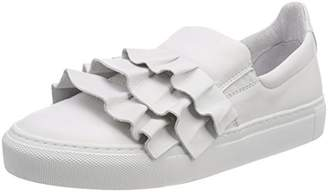 Pavement Women's Ava Fringel Trainers, (White 030)
