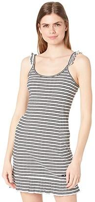 Hurley Rib Summer Dress (Sail Joanna Stripe) Women's Clothing