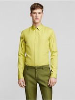 Calvin Klein Collection Cotton Poplin Slim Shirt