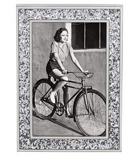 Kate Spade Metal Gifts Frame 4 x 6 Silver