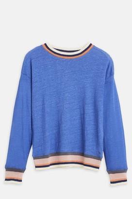 Bellerose Senia T Shirt In Ultramarine - XXS