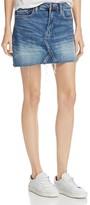 Blank NYC BLANKNYC Distressed Denim Mini Skirt