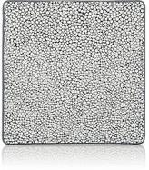 Barneys New York Shagreen-Embossed Leather Coaster
