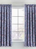 V&A Akimi curtain 66X72 blue