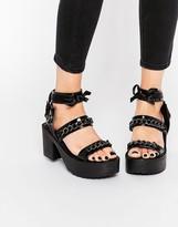 Daisy Street Chunky Chain Sandal