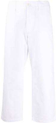 Jejia High-Waist Cropped Trousers