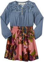 Cupcakes & Pastries Knit Dress (Toddler/Kid) - Blue/Purple-10
