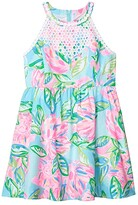 Lilly Pulitzer Little Kinley Dress (Toddler/Little Kids/Big Kids) (Multi Totally Blossom) Girl's Dress