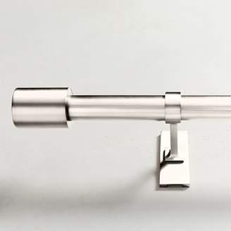 west elm Oversized Adjustable Metal Rod - Polished Nickel