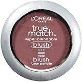 L'Oreal True Match Super-Blendable Blush, Spiced Plum, 0.21 oz.