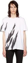 Saint Laurent White Flame T-Shirt