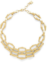 BCBGMAXAZRIA Three-Dimension Chain-Link Necklace