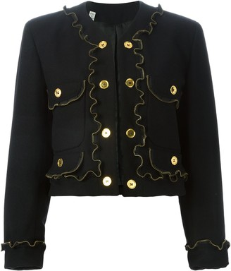 Moschino Pre-Owned zipper detail jacket