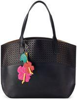 Mondani Mari Perforated Double Shoulder Bag