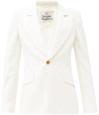 Vivienne Westwood Lou Lou Virgin-wool Cady Jacket - White