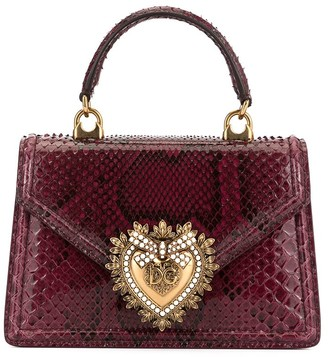 Dolce & Gabbana Devotion embossed tote bag