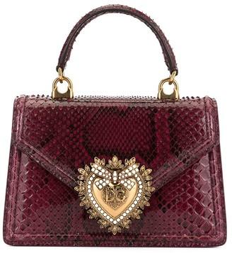 Dolce & Gabbana Devotion embossed tote bag