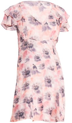 Parker Elena Floral Mini Dress