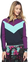Juicy Couture Colorblock Ponte Pullover