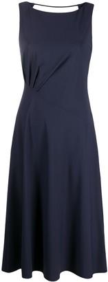 Patrizia Pepe Side-Twist Sleeveless Dress