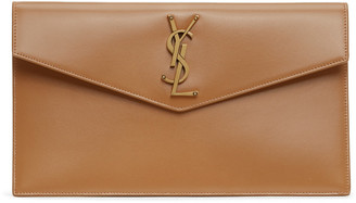 Saint Laurent Tan Uptown Pouch