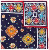 Kiton all over print scarf