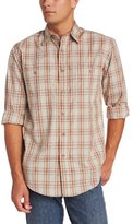 Wrangler Men's Big-Tall Rugged Wear Wrinkle Resist Plaid with Spread Collar