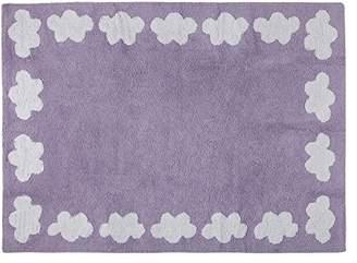 Lorena Canals Cenefa Nubes Washable Rug (Purple)