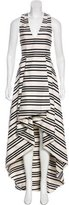 Alice + Olivia Striped High-Low Dress w/ Tags