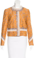 Prada Jacquard Button-Up Jacket w/ Tags