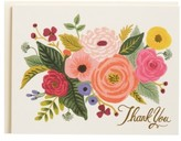 Rifle Paper Co. Juliet Rose Set Of 8 Note Cards - Green