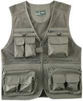 Zhhmeiruian Mens Thin Mesh Fishing Photography Vest Gilet Gift for Father's Day