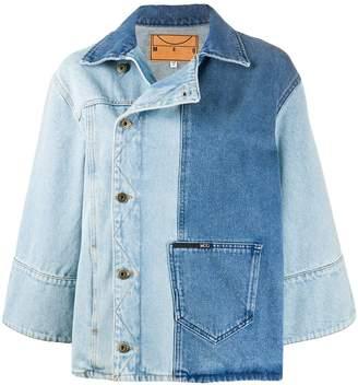 McQ colour-block denim jacket