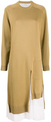 Tibi Lined Knitted Dress