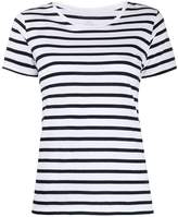 Majestic Filatures striped cotton T-shirt