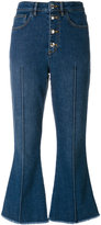 Sonia Rykiel cropped denim trousers - women - Cotton/Polyester/Spandex/Elastane - 36