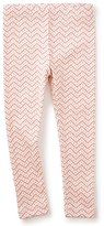 Tea Collection Toddler Girl's Zigzag Leggings