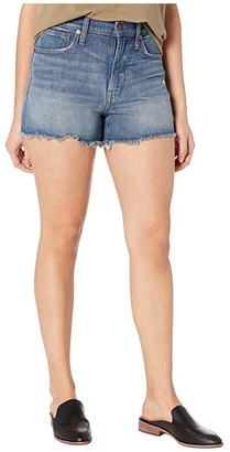 Madewell The Perfect Jean Short in Rayburn: Comfort Stretch Edition (Rayburn) Women's Shorts