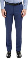 Hugo Boss Hugo By Hugo Boss C-genius Virgin Wool Pindot Weave Suit Trousers, Bright Blue