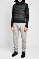 Moncler Down-Filled Jacket with Wool